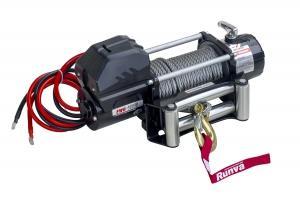 Лебёдка электрическая 12V Magnum 12000 lbs 5443 кг (стальной трос)