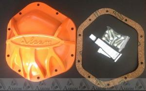 Крышка редуктора УАЗ усиленная мост Спайсер с крепежом (оранжевая)