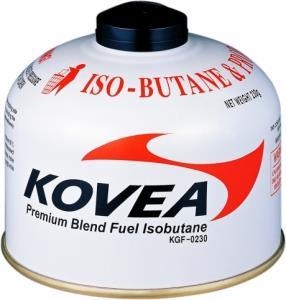 Баллон KOVEA вес 230г (изобутан/пропан 70/30)