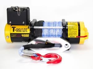 ATW PRO 4500 лебедка электрическая 12В с синтетическим тросом
