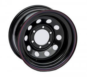 Диск усиленный Тойота Ниссан стальной черный 6x139,7 7xR15 d110 ET-15