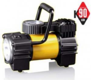 Автомобильный портативный компрессор КАЧОК К90 LED