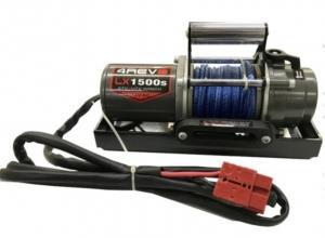Лебедка переносная 4REVO LX1500 12V с синтетическим тросом