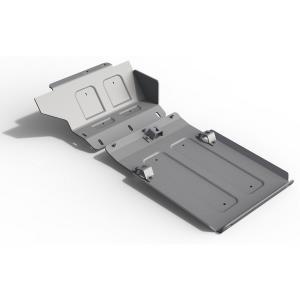 Защита картера ВАЗ 2121 2001-2017, 2 части, алюминий 6 мм