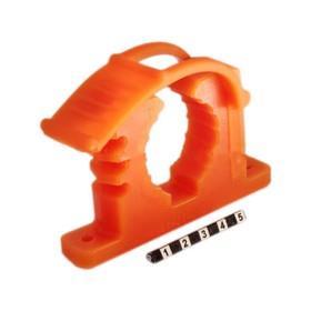 Крепеж универсальный (для лопаты) оранжевый