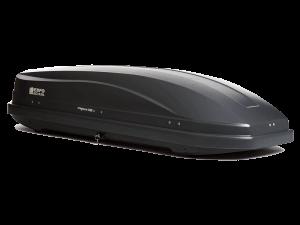 Бокс автомобильный Магнум 330(серый, тиснение «КАРБОН» ) 1850*600*420