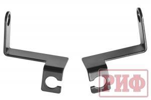 Кронштейны РИФ для переноса крепления тормозных шлангов УАЗ Патриот лифт 50 мм (элек. РК)