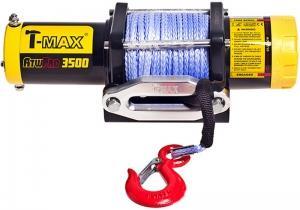 ATW PRO 3500 лебедка электрическая с синтетическим тросом