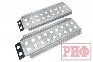 Сенд-траки (аппарели) РИФ 118x48 см алюминиевые усиленные (2 шт.)