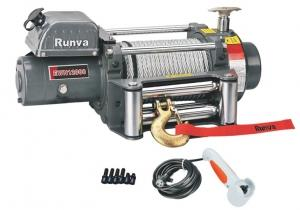 Лебёдка электрическая (индустр.) 24V Runva 12000 lbs 5443 кг