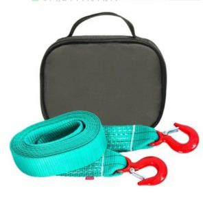 Буксировочный ремень Tplus 6/9т 5м (авто до 3 т) Крюк/Крюк + сумка