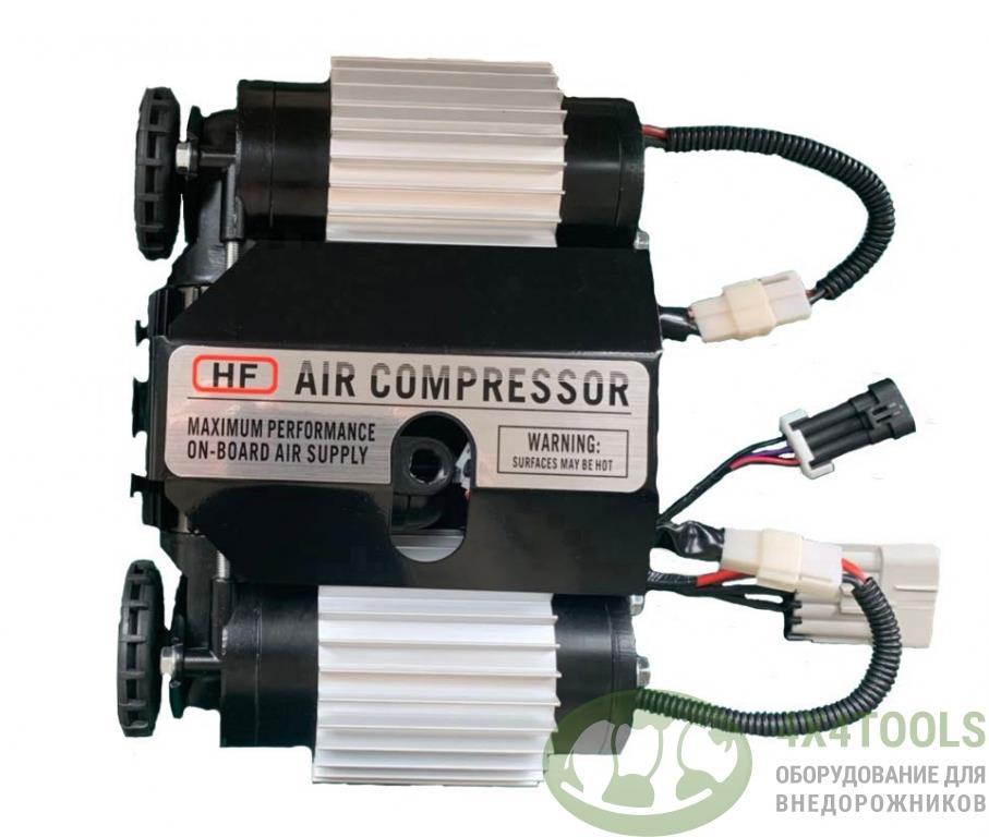 Компрессор двухпоршневой высокопроизводительный стационарный HF