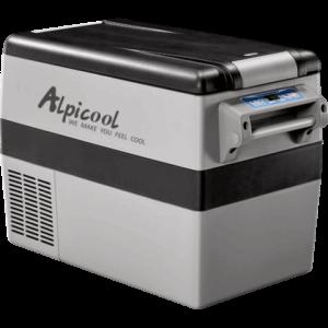 Холодильник автомобильный ALPICOOL CF (45 л) 12/24/220 В (зона заморозки/охлаждения)