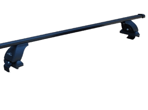 Багажник на крышу с дугами 1,2м прямоугольный в пластике  для Hyundai ix35 (2013-2015)