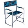 Кресло директорское NISUS Shark без столика (серый/голубой)