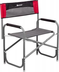 Кресло директорское NISUS MAXI без столика (серый/красный/черный)