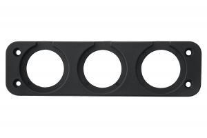 Панель монтажная для приборов три отверстия