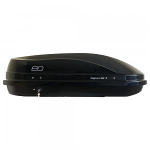 Бокс автомобильный Магнум 350 (черный металлик)(1400*900*420) Быстросъём