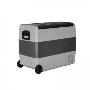 Холодильник автомобильный ALPICOOL серия T (60 л) 12/24/220 В (зона заморозки/охлаждения)