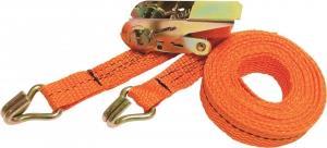 Ремень крепежный с храповым механизмом ( с крючком) ( длина 3,7 м)