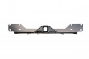 Фаркоп РИФ передний (переходник) для съёмной лебедки в штатный бампер Toyota Hilux 2015+