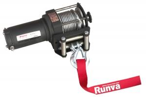 Лебёдка электрическая 12V Runva 3000A lbs 1361 кг