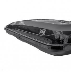 Бокс автомобильный на крышу РИФ Курорт 450 л черный глянец, двусторонний
