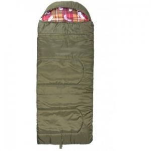 Мешок спальный БАТЫР XXL СОШ-3 (220*90) зелёный (холлофайбер) Helios