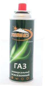 Баллон газовый цанговый TUNGUS Premium 220 гр.