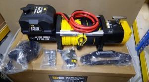 Winching ETALON 12500 лебедка электрическая 12В   с синтетическим тросом
