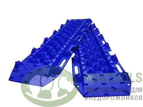Сэнд-траки пластиковые 120x35 см , синие (2 шт.)