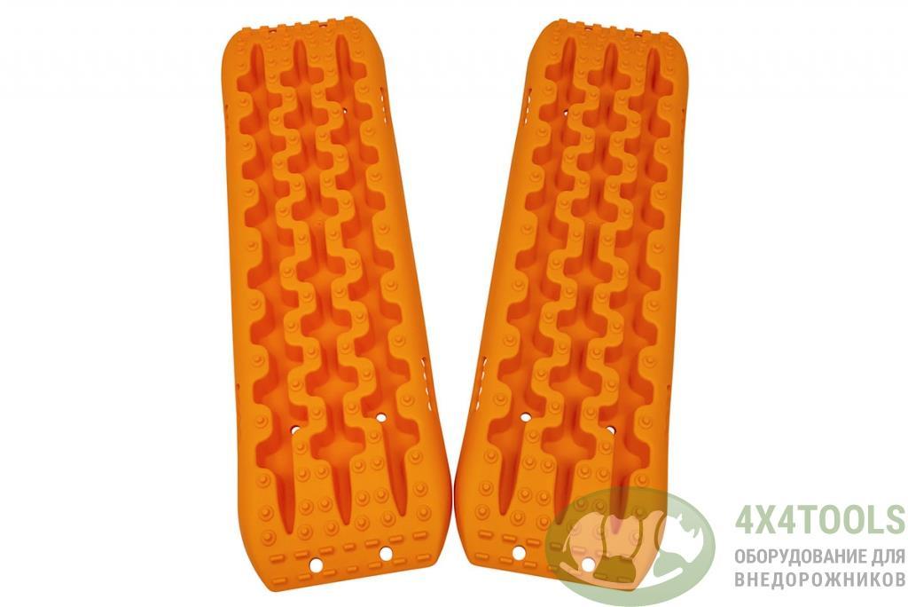 Сенд-траки пластиковые 106,5х30,6 см усиленные, оранжевые (2 шт.)