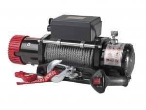 Лебёдка электрическая redBTR серия HUNTER 12 (12v) с чугунным клюзом