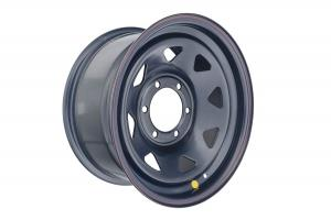 Диск усиленный Toyota Hilux 2.5D, 3.0D стальной черный 6x139,7 8xR16 d110 ET+10 (треуг. мелк.)