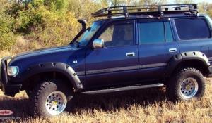 Расширители колёсных арок Toyota Land Cruiser 80 (80 мм)