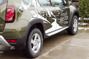 Расширители колесных арок Renault Duster 2015-