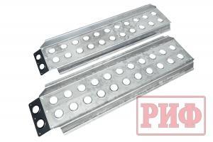 Сенд-траки (аппарели) РИФ 148x48 см алюминиевые усиленные (2 шт.)