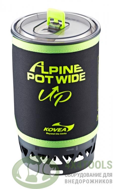 Горелка газовая Kovea Alpine Pot Wide Up 1,5L  KGB-0703WU