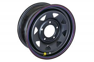 Диск усиленный ВАЗ НИВА стальной черный 5x139,7 6,5xR15 d98,5 ET+30 (треуг.)