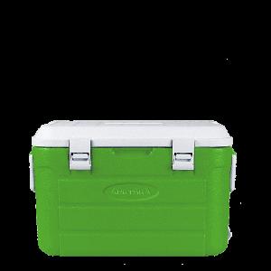 Изотермический контейнер 30 литров зелёный