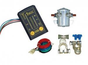 Набор для подсоединения двух батарей с индикатором заряда
