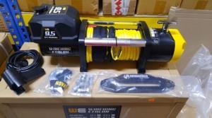 Winching ETALON 9500 лебедка электрическая 12В  с синтетическим тросом