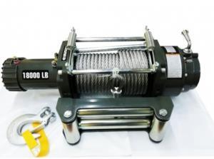 Лебедка автомобильная (индустриальная) 4REVO 18000 24V SAE J706 со стальным тросом