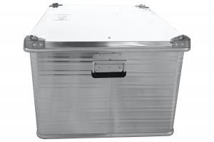 Ящик алюминиевый РИФ усиленный с замком 782х585х412 мм (ДхШхВ)
