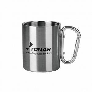 Термокружка ТОНАР 300ML ручка-карабин