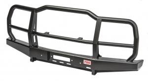 Бампер РИФ силовой передний УАЗ Хантер с защитной дугой  облегчённый (без внутренних усилителей)