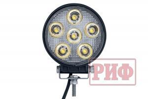 Фара светодиодная рабочего света РИФ D116 мм 18W