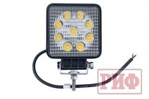 Фара светодиодная рабочего света РИФ 107 мм 27W
