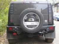 Передний бампер на УАЗ Патриот с оптикой