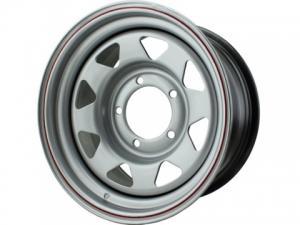 Диск колесный стальной redBTR 8х15/5х139,7 D110 ET0 матовый металлик